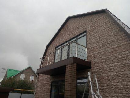 Ограждение на балкон из нержавеющей стали